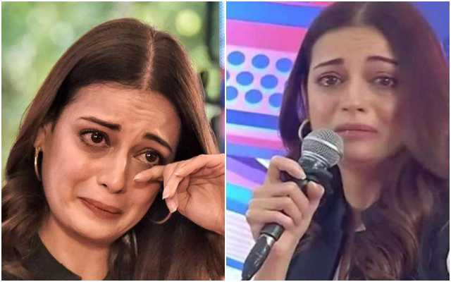 Watch: Dia Mirza cries uncontrollably during discussion on climate crisis, insists 'it is not a performance'