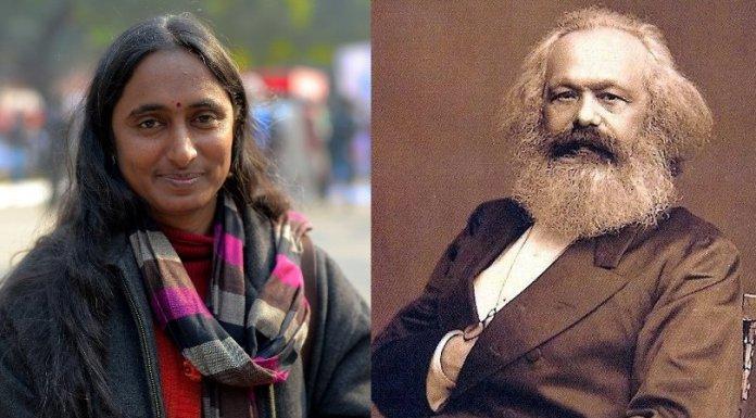 kavita krishnan Karl Marx