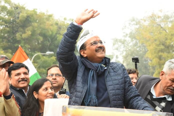 Kejriwal laments over crowd at RO office, AAP alleges BJP conspiracy to delay CM