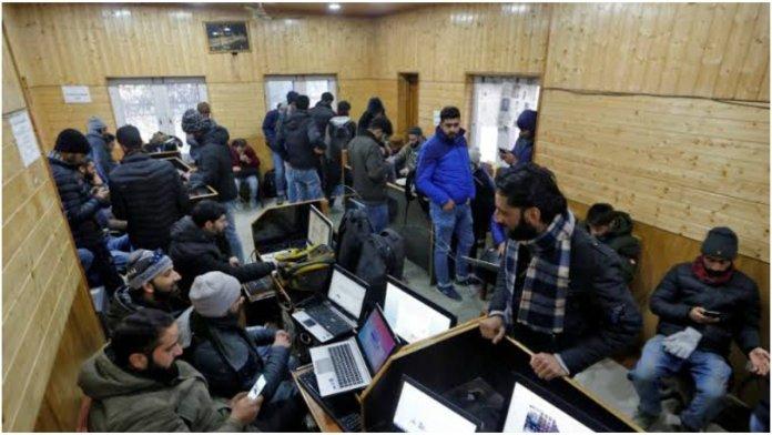 Internet partially restored in Kashmir