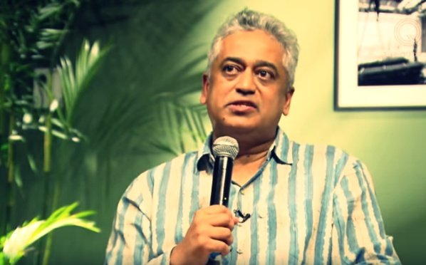 Just days after apologising unconditionally in court for spreading fake news, Rajdeep Sardesai lies in a Hyderabad speech