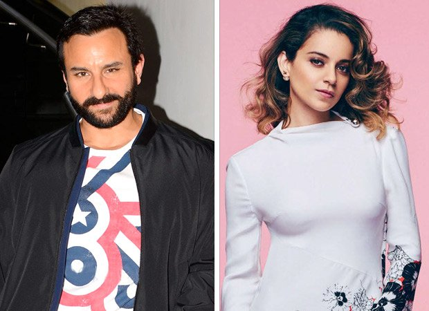 Kangana slammed Saif Ali Khan's statement claiming there was 'no 'concept of India till the British gave it one'