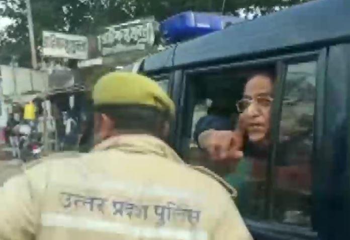 Azam Khan, wife and son arrested