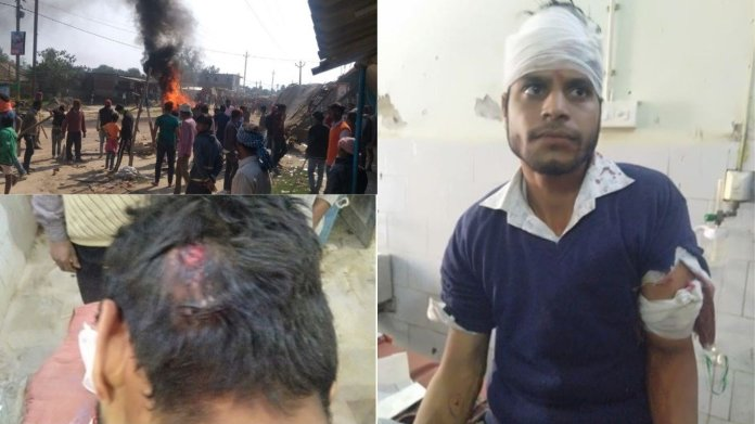 Muslim mob attacks Hindus in Dahoda village of Bihar's Darbhanga after one Murshid argues with another Gunanand yadav over Rs 200