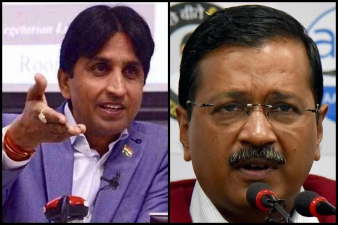 Kumar Vishwas urges voters too 'wash their sins of past 5 years', calls Arvind Kejriwal 'AIDS of politics'