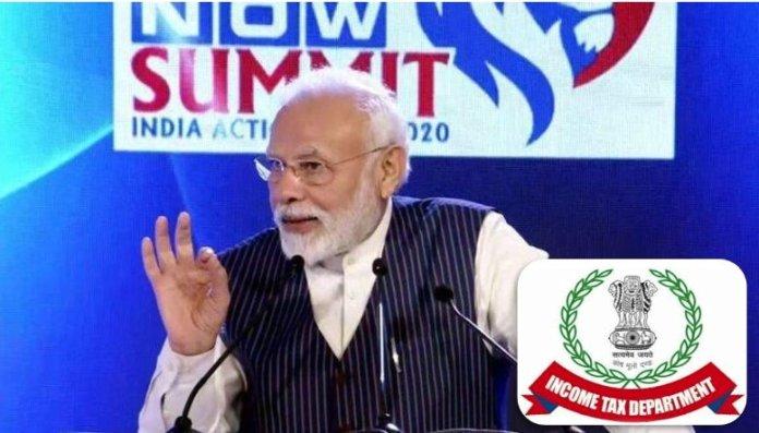 Modi income tax