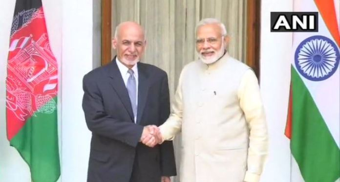 Afghanistan President Ashraf Ghani expresses thanks to India for support to democratic process
