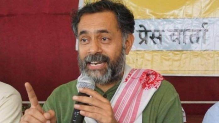 Yogendra Yadav insults Hindus as he claims Hindi, Hindus and Hindustan will rip apart the country