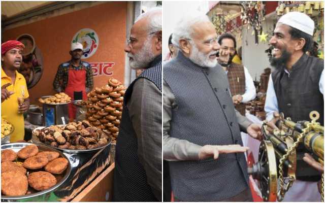 PM Modi visits Hunar Haat in Delhi's India Gate lawns, enjoys Litti Chokha