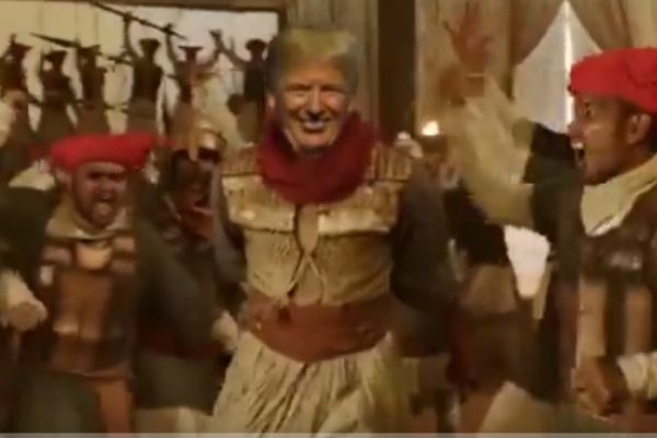 Donald Trump Jr. shares meme video of Trump dancing to a song from Bajirao Mastani