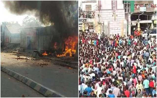Hindu organisations call for bandh, hold massive protests against repeated violence by Muslim mobs in Gujarat's Khambhat