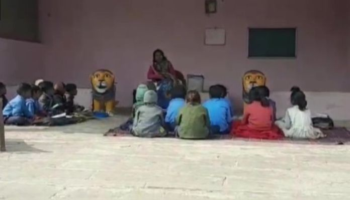 Madhya Pradesh: Middle school functioning for 6 years without a building