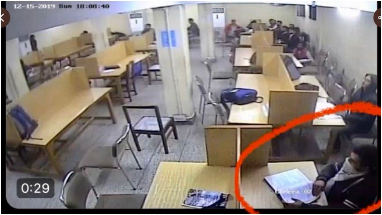 Anti-BJP ecosystem including journalists spread edited CCTV footage to claim police attacked students in Jamia library - Opindia News