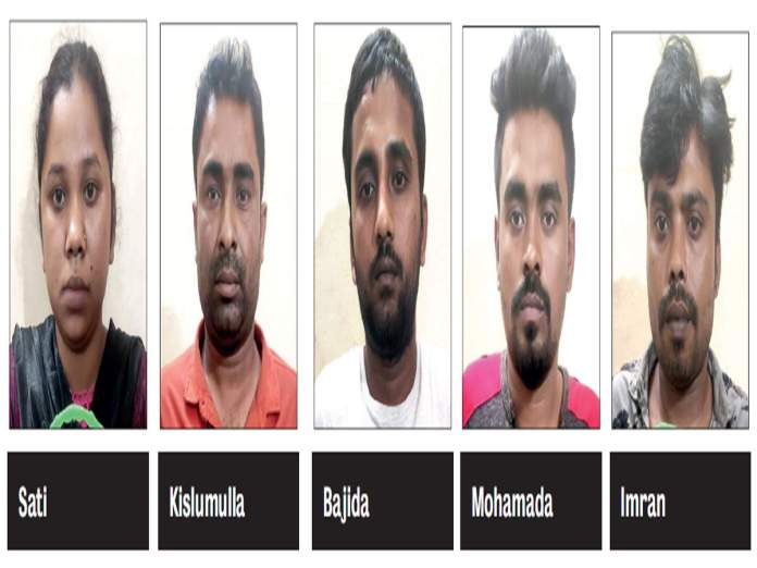 5 Bangladeshis arrested for trafficking minor girl and forcing her into prostitution