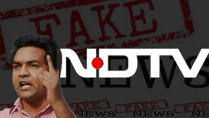 NDTV Sreenivasan Jain invents a 'landlord' to target to Kapil Mishra, Sanjay Gupta turns out to be an imposter: Here are the details