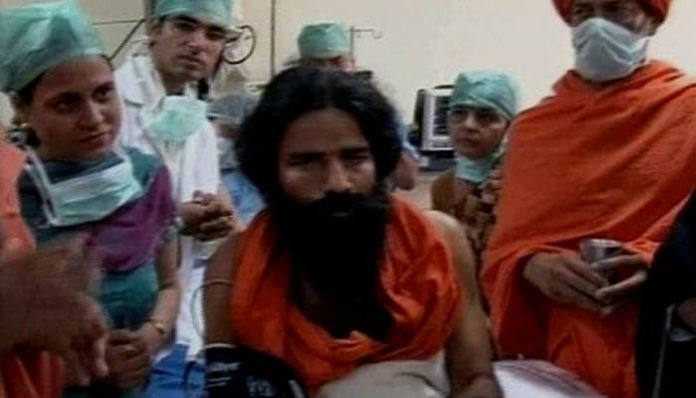 #Fact Check: Baba Ramdev is not in ICU for