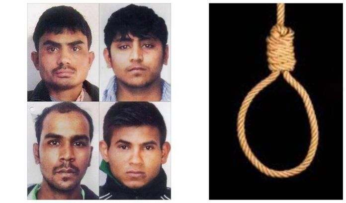 Nirbhaya gangrape and murder convicts to be hanged on Friday 20 March at 5.30 am