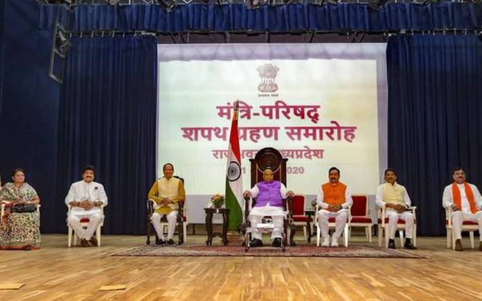 5 cabinet ministers sworn in in Shivraj Chouhan government in Madhya Pradesh