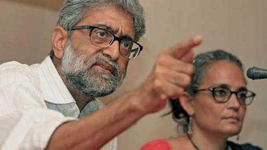 Gautam Navlakha surrends before the NIA