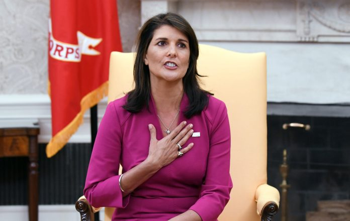 Nikki Haley calls for an investigation into the relationship between China and WHO
