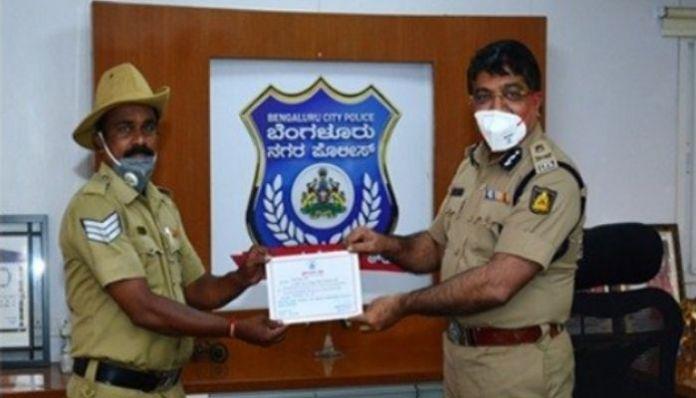 Bengaluru cop delivers medicine to a cancer patient after a 960 km journey