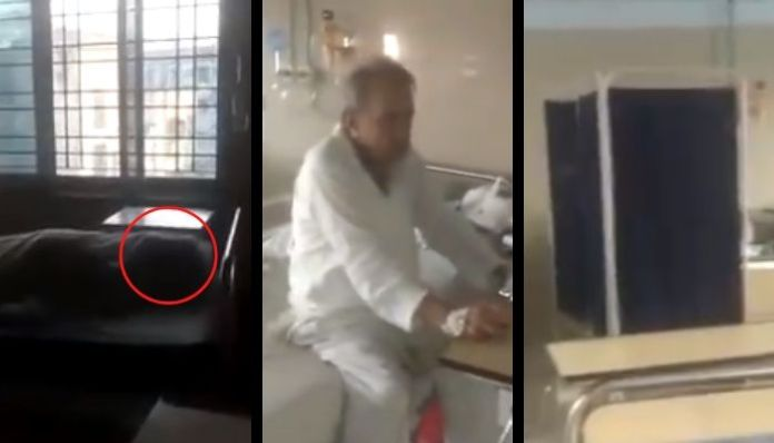 West Bengal: Video shows people sitting next to dead bodies at hospital