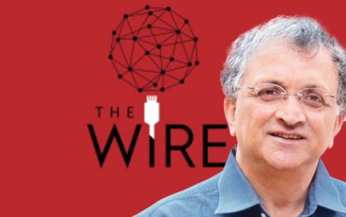 This fake news article by Ram Guha, rejected by Hindustan Times, was published by the controversial publication, The Wire.