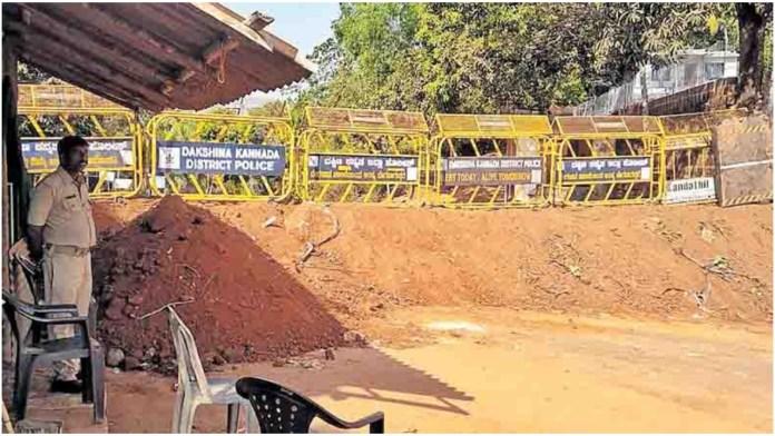 Karnataka had ordered closure of the border with Kerala due to the increasing number of coronavirus cases in Kasargod