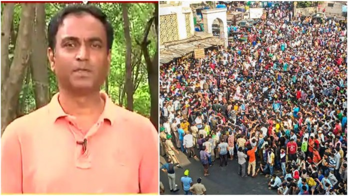 ABP Majha journalist arrested for false report of special trains for migrants that allegedly led to migrant workers gathering in Bandra in huge numbers
