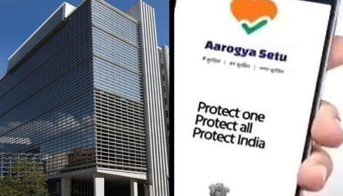 India's Aarogya Setu app now earns praise from the World Bank