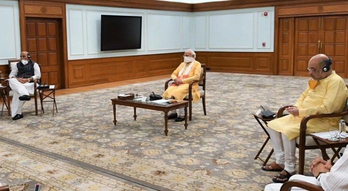 Amit Shah PM Modi gas leak meeting 07052020