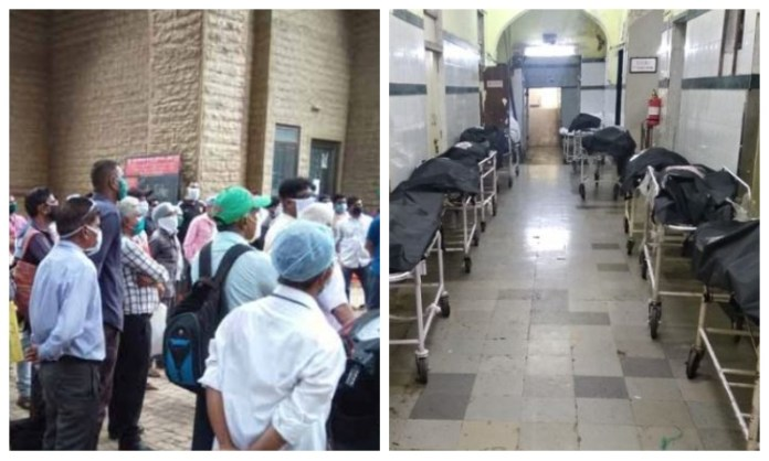 Contractual employees in Mumbai's KEM hospital go on strike, citing apathy of the administration