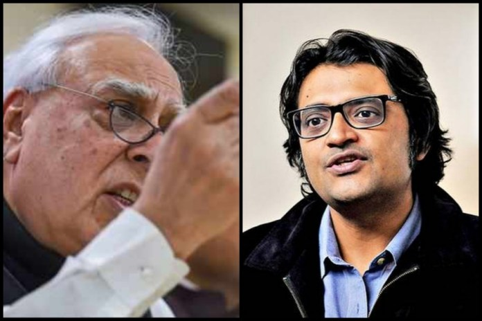 Congress just admitted in Court that the 'investigation into Arnab Goswami' is nothing but vendetta: Here is how