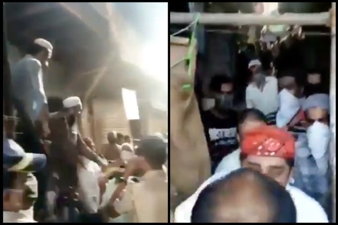 Watch: Mob attacks Mumbai police in Kurla as they go to enforce lockdown, no arrests made yet