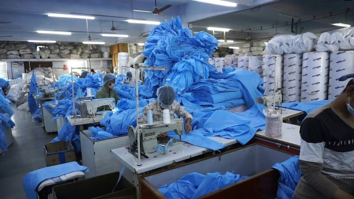 PPE industry India