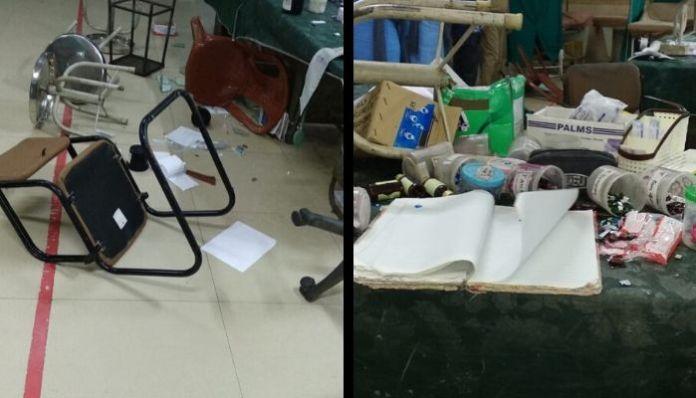 West Bengal: Relatives of one deceased Akhtari Begum vandalise hospital