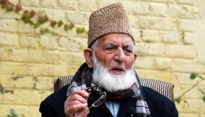 Syed Ali Geelani quits Hurriyat Conference after being ignored by Pakistan