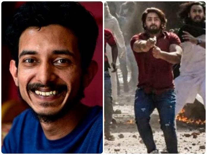 Newlaundry's Sharjeel Usmani glorifies Delhi riots accused Shahrukh