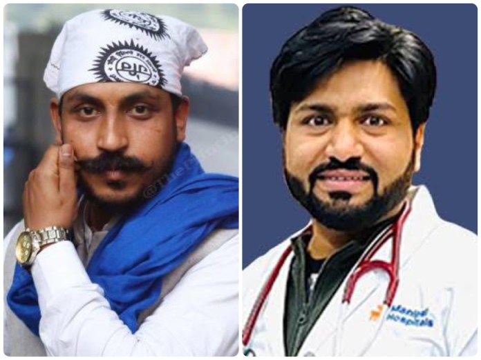 Chandrashekhar Azad and Dr Harjit Bhatti did not reveal the Bhim Army chief's underlying medical ailment