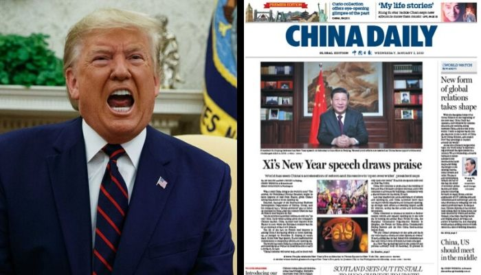 China's propaganda arm China Daily admits to paying millions to US ...