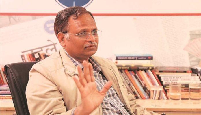 Satyendra Jain blames Centre, justifies 'no outsiders' policy of Delhi Govt