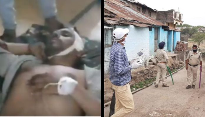 RSS worker killed during a clash over goat grazing by particular community