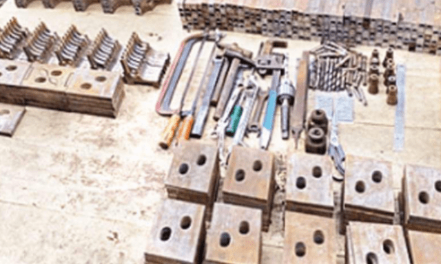 Illegal arms factory raided in Vaishali