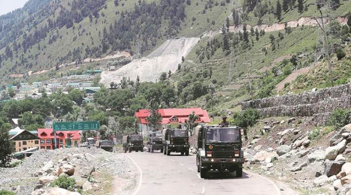 Amidst India-China standoff, Bridge over Galwan river constructed by the Indian Army