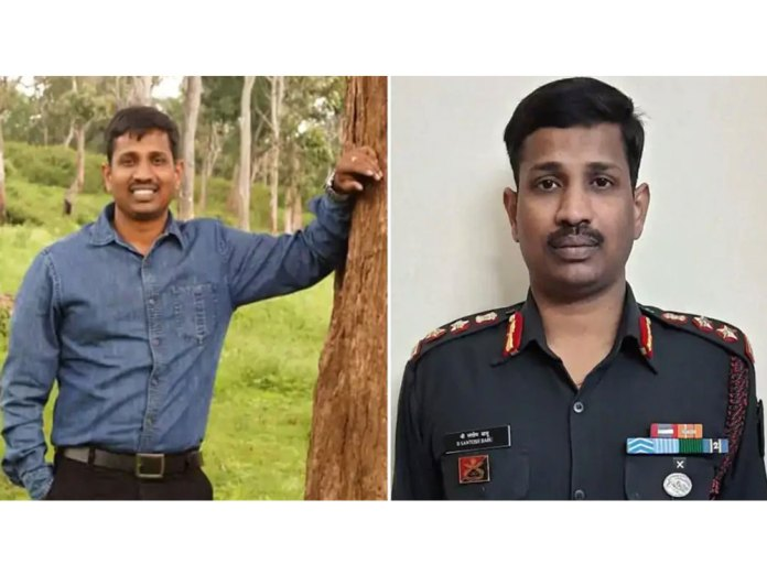 Col Bikumalla Santosh Babu was among the 20 Indian soldiers martyred in the clash with the Chinese in Ladakh's Galwan Valley