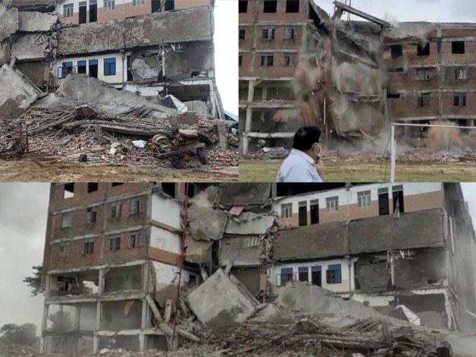 Iqbal Ali's Dental college demolished in UP