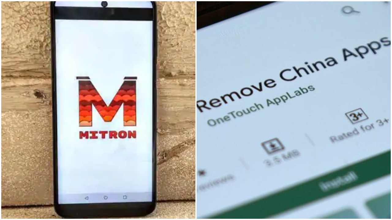 Google takes down 'Mitron' and 'Remove China Apps' from Play Store for policy violation- Soochna