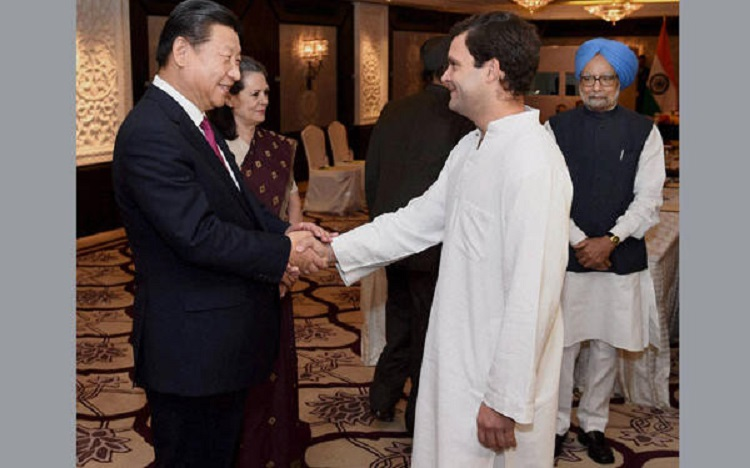 Image result for india signing agreements with china during congress regime