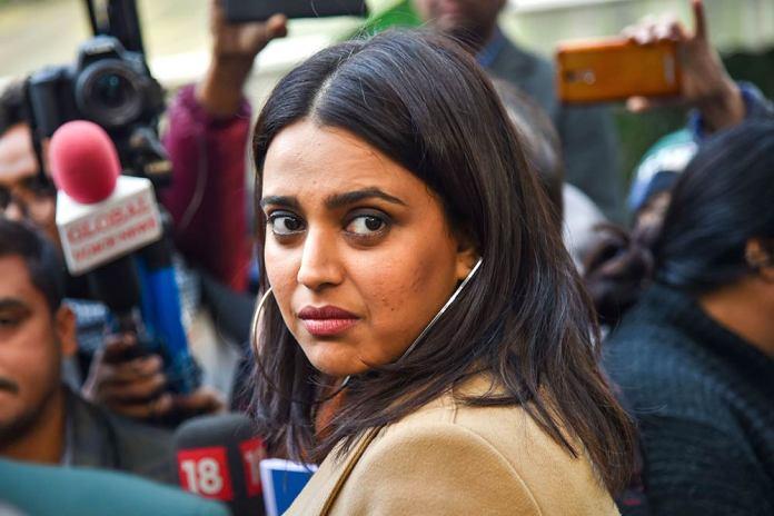 Swara Bhasker justifies abusing a child