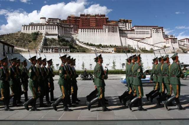 The Chinese occupation of Tibet has contributed significantly to India's military spending